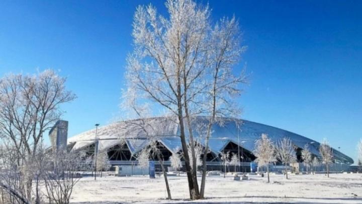 Новый год у «Самара Арены»: публикуем карту зимних развлечений