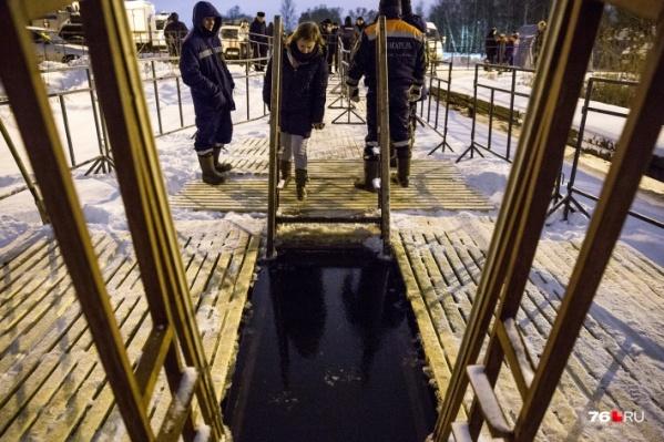 В Ярославле открытие купелей пока под вопросом