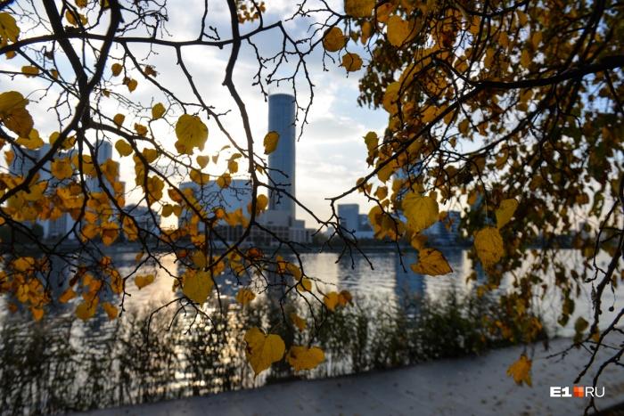 Начало осени в этом году радует уральцев
