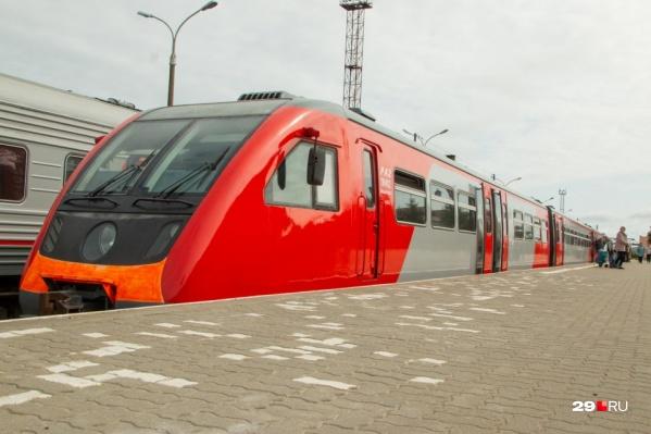 Рельсовый автобус связал Архангельск и Северодвинск с 3 августа