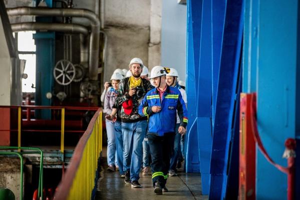 В прошлом году новосибирская ТЭЦ-5 стала лидером среди местных ТЭЦ по количеству групповых экскурсий