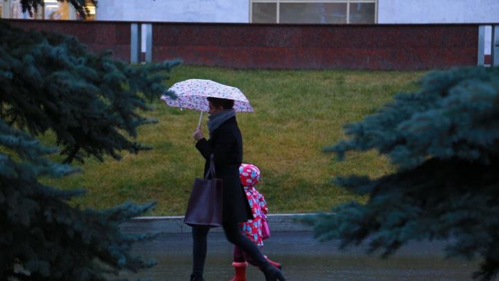 Погода в первый день октября: в Башкирии будет дождливо и ветрено