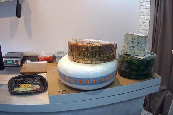 Санкционный сыр нашли в одном из магазинов города