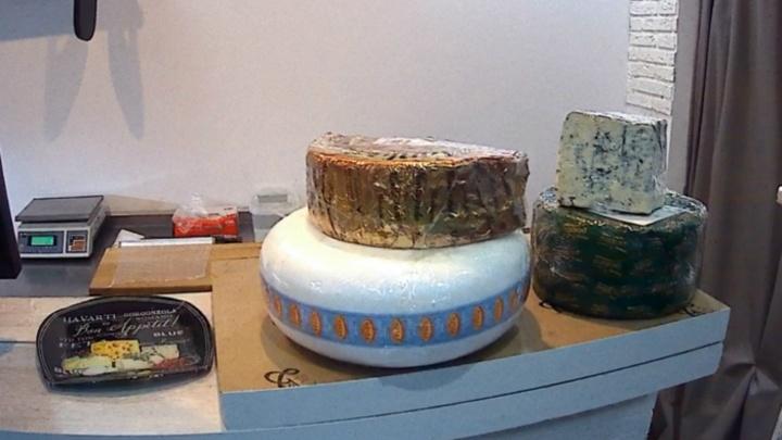 Дор-блю, шеврет, монтаньоло: в Ярославле уничтожили килограммы сыра из Евросоюза