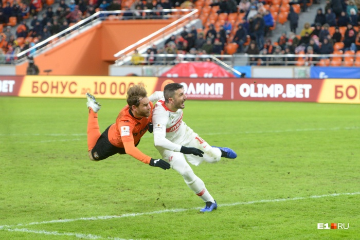 Эрик Бикфалви стал автором победного гола