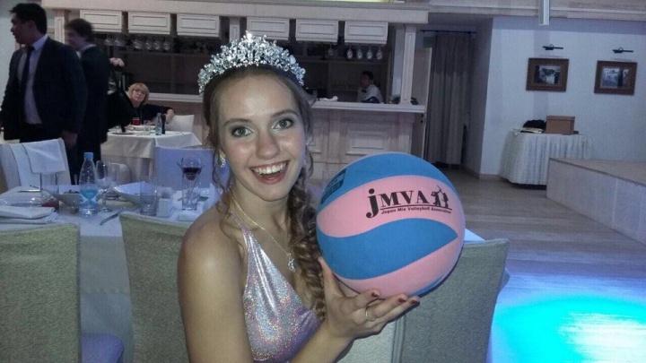В Новосибирске выбрали королеву волейболисток