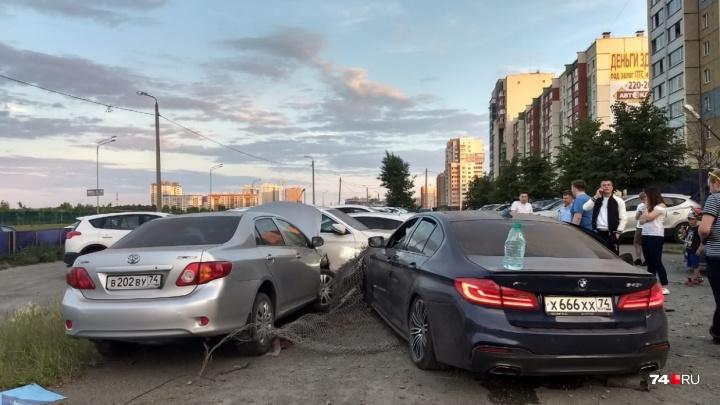 Мажора, разгромившего в Челябинске парковку на BMW с номером x666xx, отдали под суд