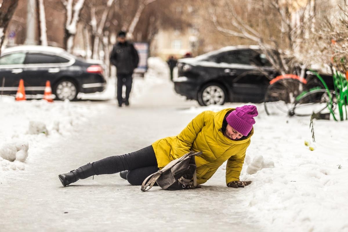 Из-за нестабильной погоды в январе Новосибирск покроется льдом