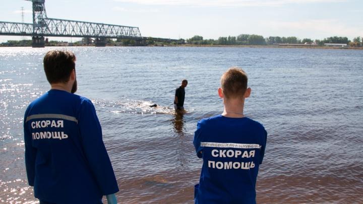 В Архангельске прохожие нашли в Северной Двине труп мужчины