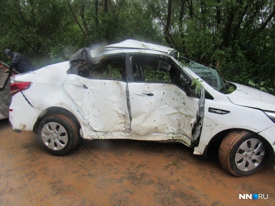 ДТП вНижегородской области: 4 человека погибли наместе, еще троих госпитализировали