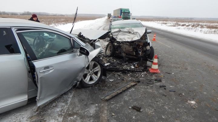 Виновник аварии на трассе Екатеринбург – Тюмень скончался в больнице