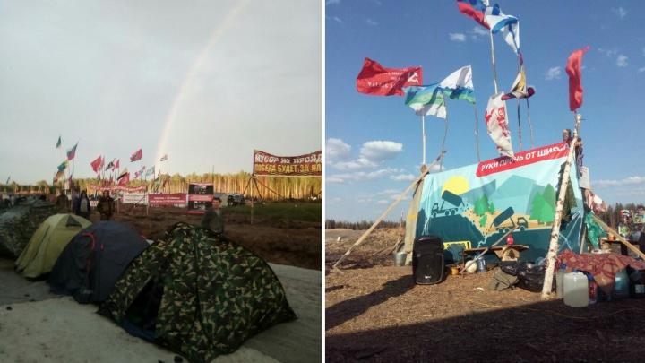 Ярославцы отправились жить в палатках на Шиес, чтобы спасти север от московского мусора