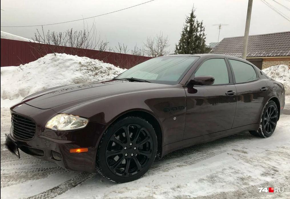 Другой экстремальный пример: этот Maserati Quattroporte 2008 года за сумму около 1,1 миллиона рублей