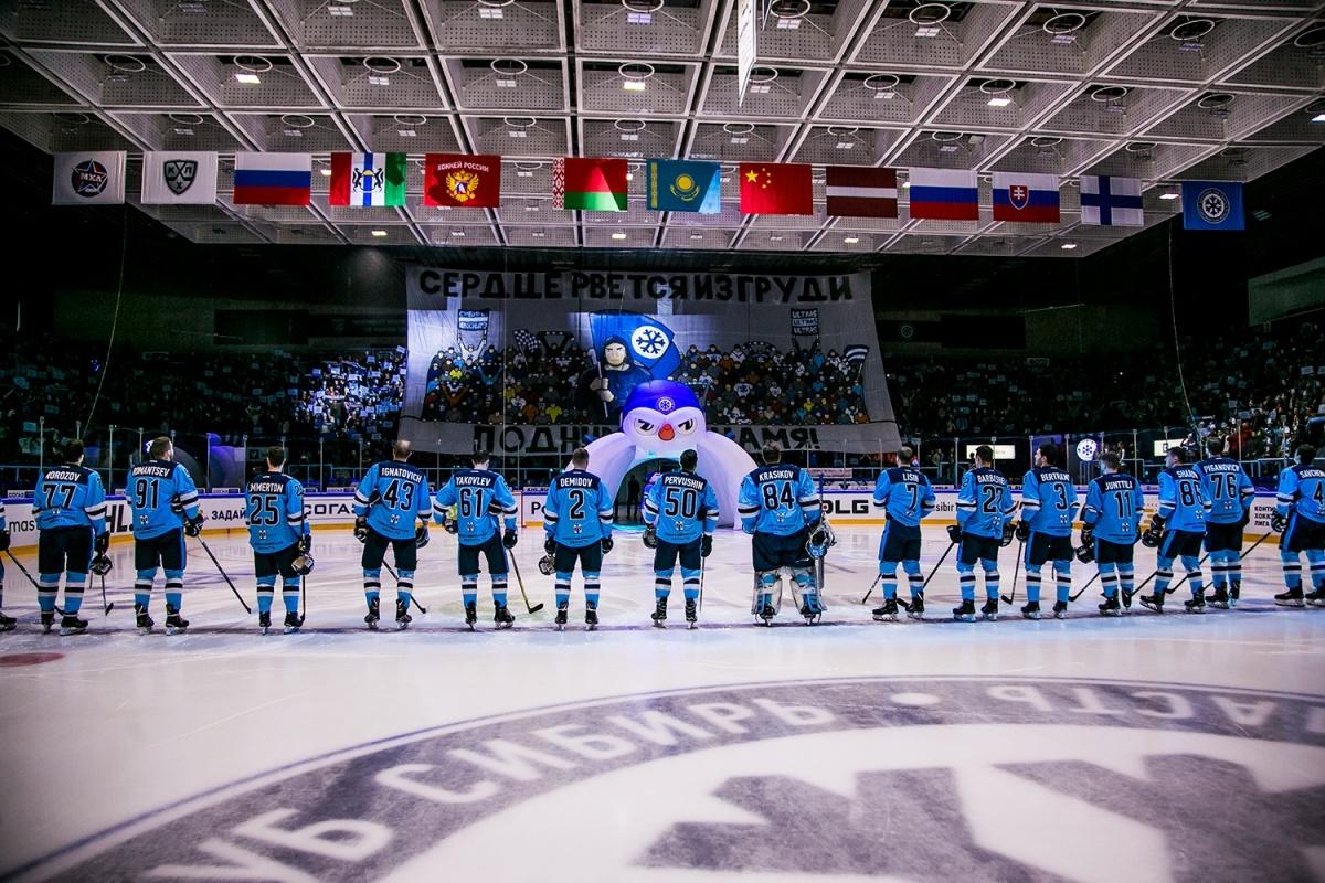 Первый гол «Сибири» принадлежал Саюстову