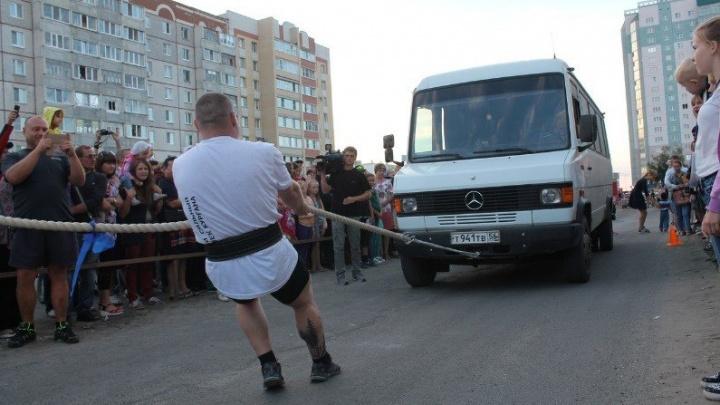 В Курган на День города приедет обладатель титула «Самый сильный человек России» Эльбрус Нигматуллин