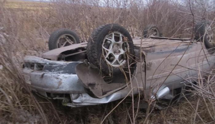 В Шадринском районе водитель погиб в аварии из-за заноса