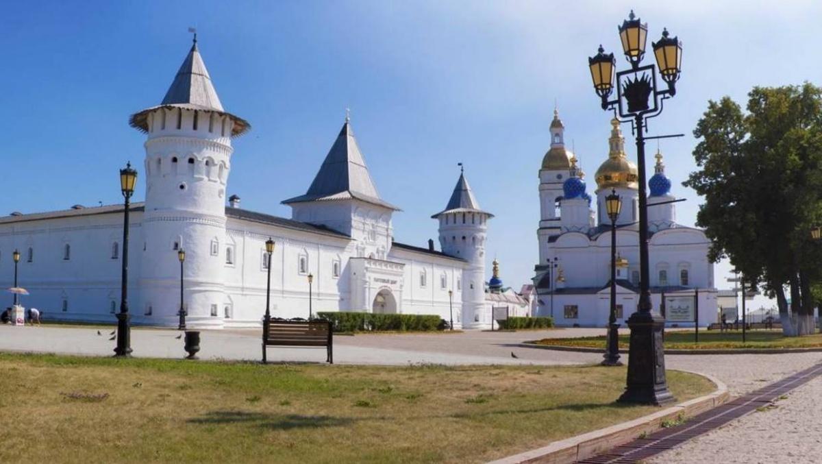 Тобольский кремль — каменная древняя крепость