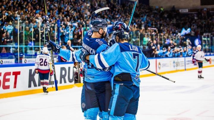 Хоккей:«Сибирь» проиграла московскому«Спартаку» всухую