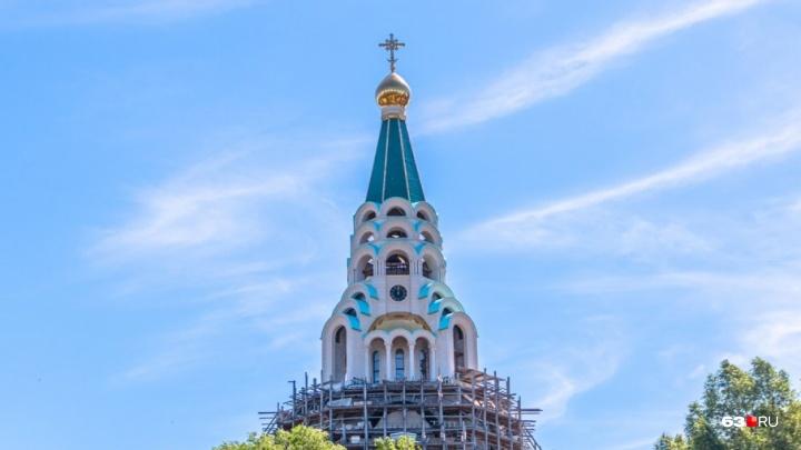 Первую службу в самарском Софийском соборе проведут 23 сентября