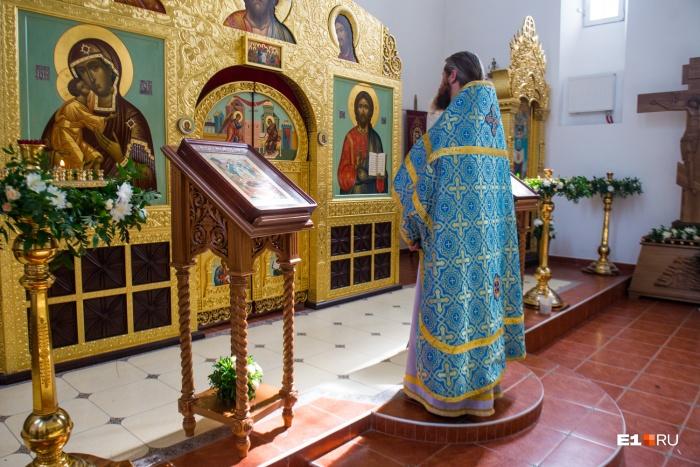 В большинстве церквей Екатеринбурга вещи теперь не принимают