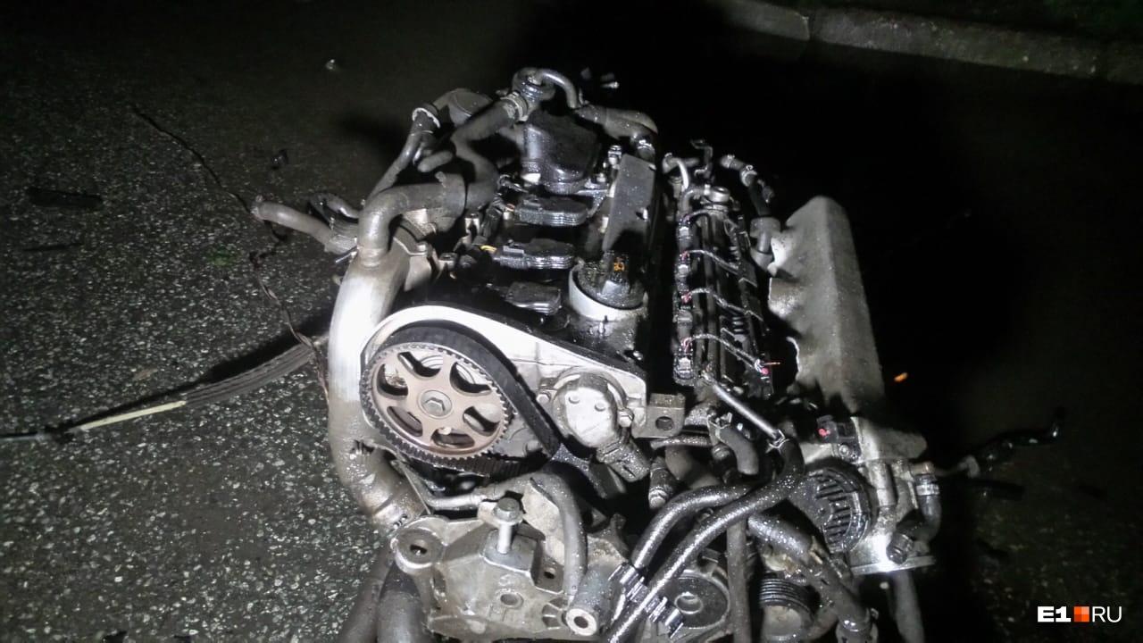 УSkoda вылетел двигатель