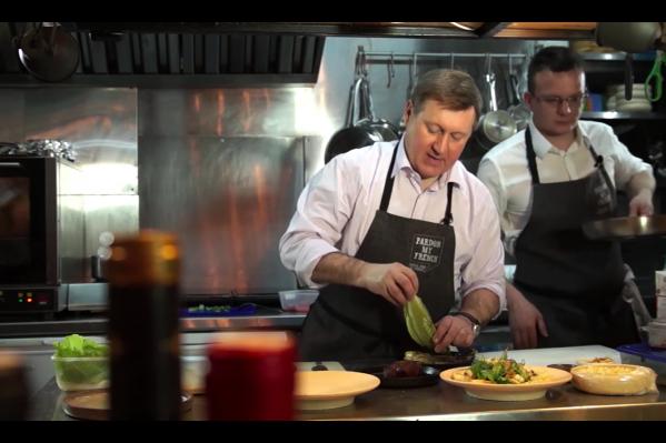 Скриншот из видео «Рецепт вкусного 8 Марта»
