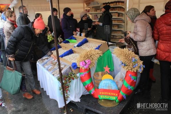 Ярмарка белорусских товаров откроется в эту субботу, 30 сентября