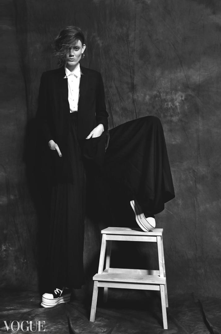 Сайт итальянского Vogue публикует снимки фотографов со всего мира— отбор редакции журнала очень жёсткий
