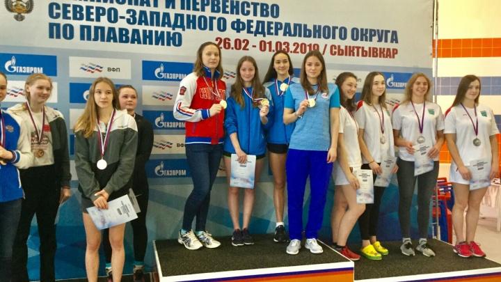 Отобрались на первенство России: поморские пловцы привезли 43 медали с чемпионата СЗФО