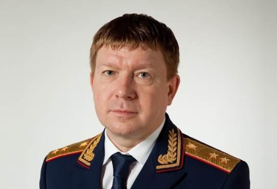Главу красноярского следственного комитета Напалкова отстранили от работы