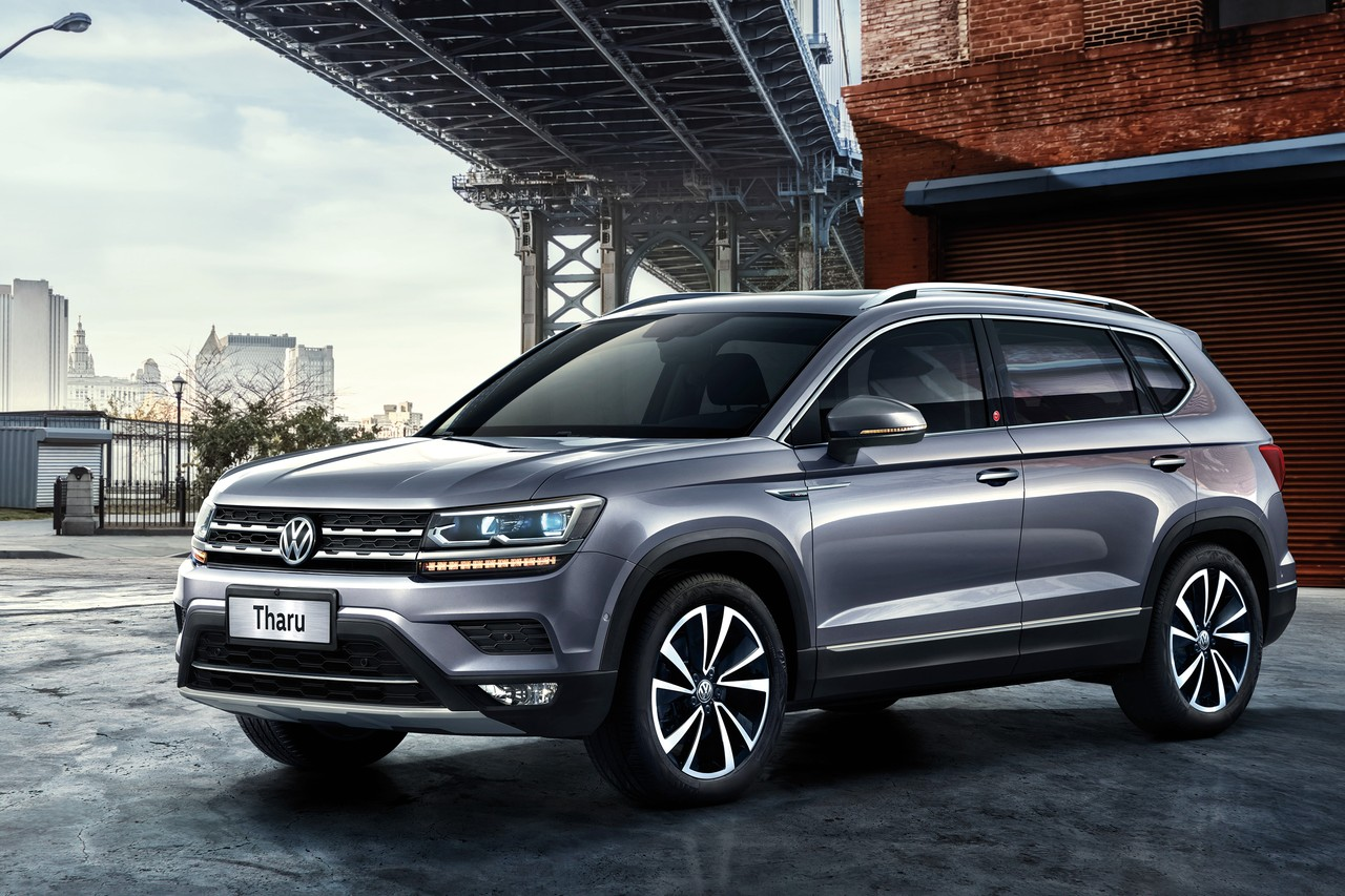 Volkswagen Tharu выглядит помпезно, как Atlas или Tiguan, но на деле станет самым компактным кроссовером VW в России