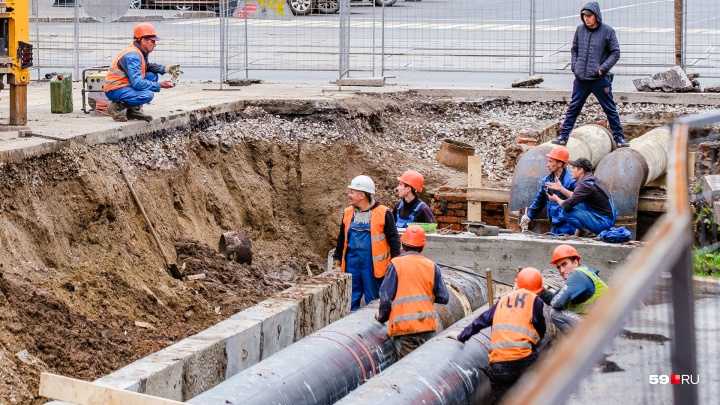 В Перми восстановили водоснабжение в микрорайоне Гайва