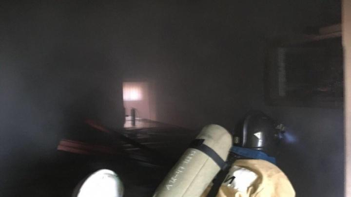В деревне Миякинского района Башкирии загорелся Дом культуры