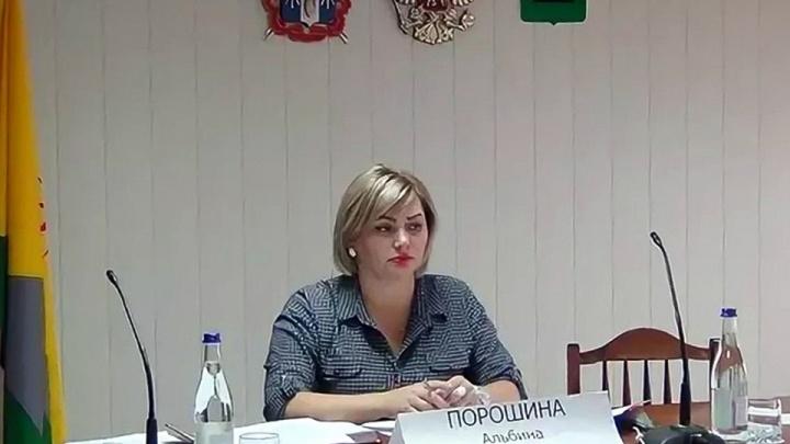 Экс-замглавы администрации Зверева Альбину Порошину осудили за взятку в 2,6 миллиона рублей