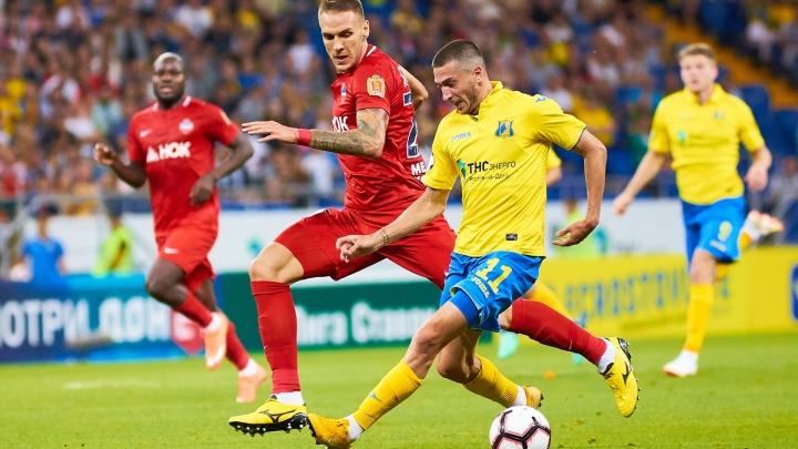 ФК «Ростов» vs «Енисей»: желто-синие разгромили соперников