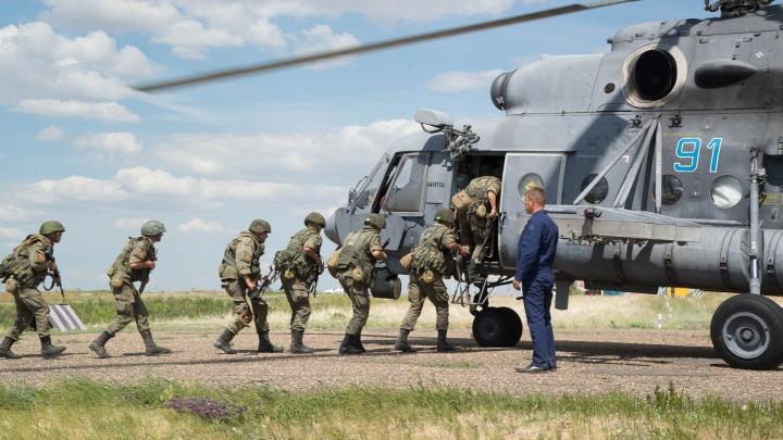 Под Волгоградом мотострелки спасли Песковатку от атаки 150 «западников»