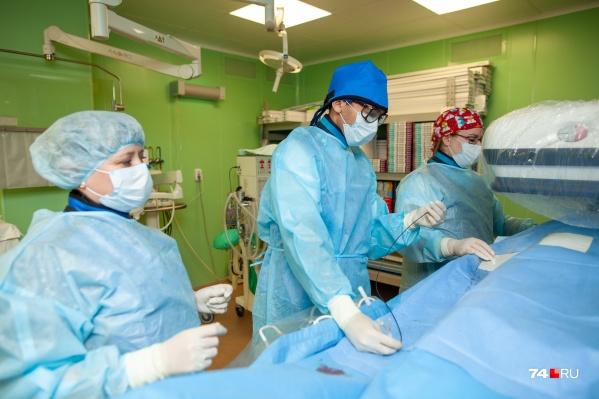 В новом центре оперируют пациентов, у которых развилась или может развитьсягангрена
