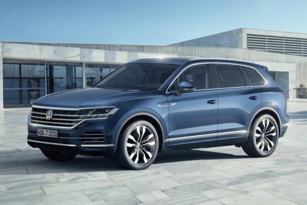 Новый Volkswagen Touareg вырос по сравнению с предшественником