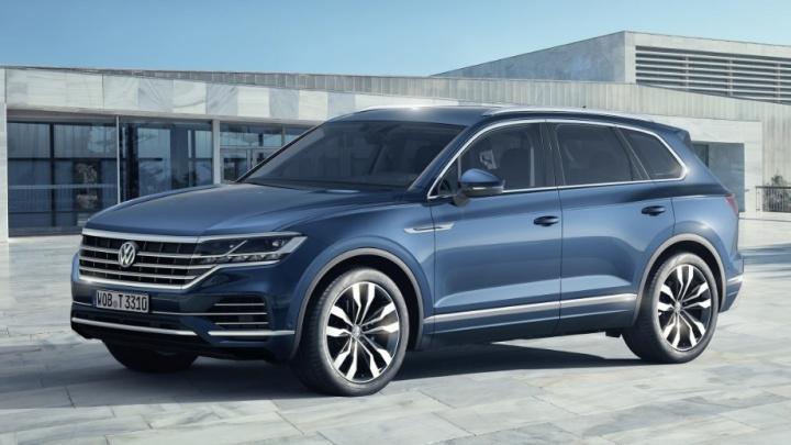 Новосибирцы увидели новый Volkswagen Touareg до мировой премьеры