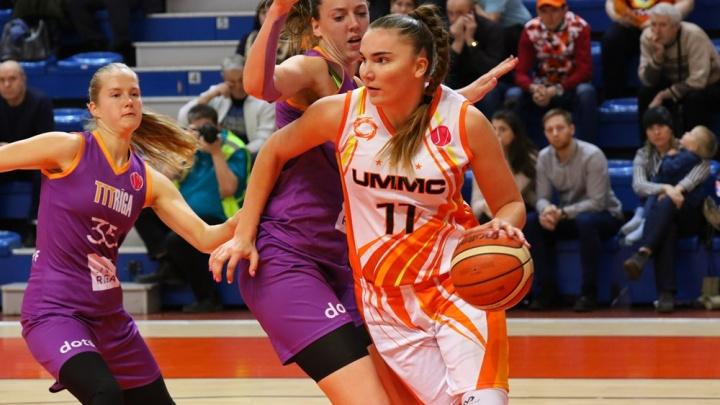 Баскетболистки УГМК обыграли чемпионок Латвии и вышли в «Финал четырех» Евролиги
