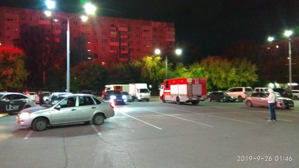 Из горящего здания эвакуировались 50 человек