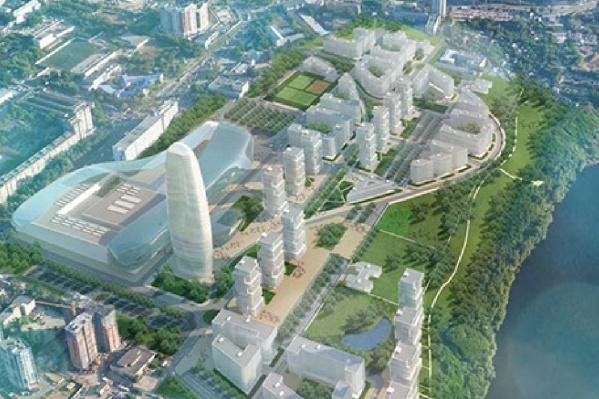 Вот так, по мнению итальянских архитекторов, может выглядеть территория бывшего ЗИМа