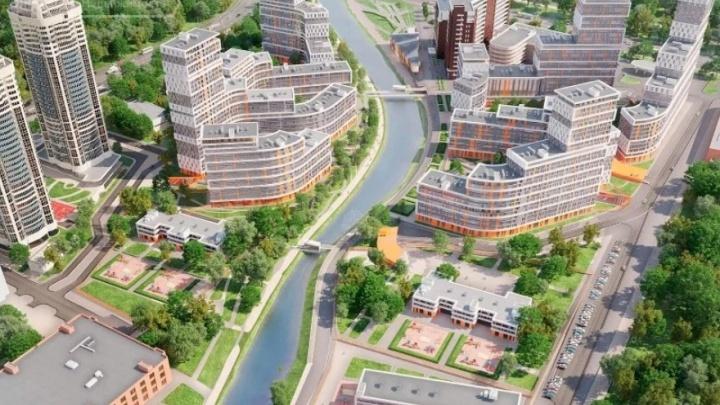 На берегу реки у парка Маяковского построят огромную школу