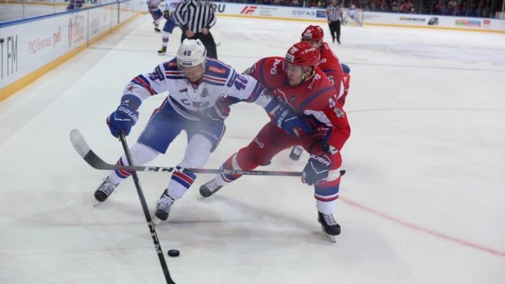 Третий матч второго раунда плей-офф окончен: «Локомотиву» не засчитали гол в ворота СКА