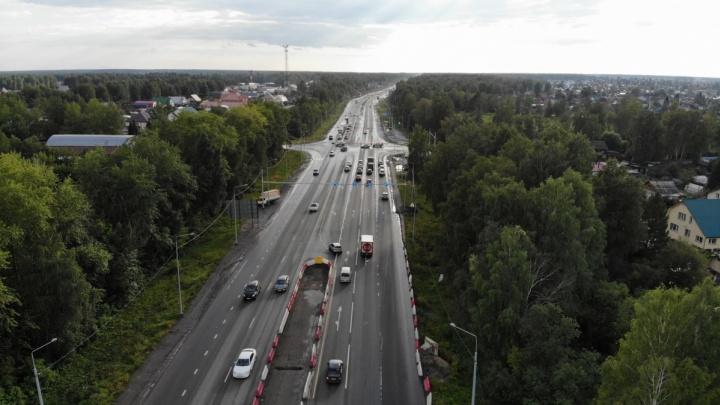 «Каждый день наматываем по 6 лишних км»: на Московском тракте убрали разворотную петлю у Зубарева