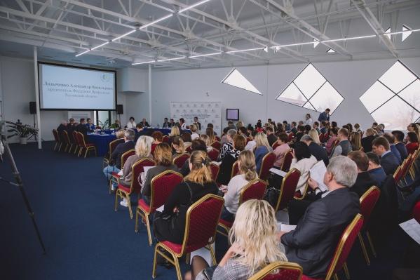На семинар приехали гости со всего ЮФО и СКФО