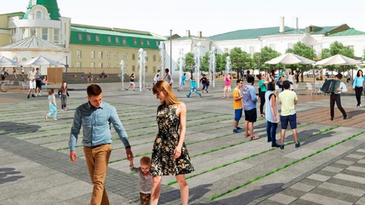 Стало известно, как предложили благоустроить улицу Бударина и набережную Оми