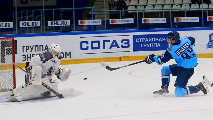 Хоккей: «Сибирские снайперы» обыграли «Тюменский Легион»