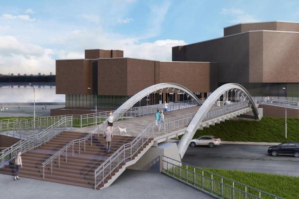 Новый мост будет выглядеть так