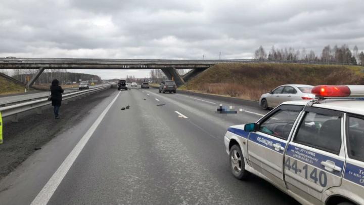 На Пермском тракте Range Rover насмерть сбил мужчину, перебегавшего дорогу